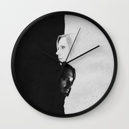 Bucky & Nat | Split Wall Clock