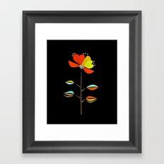 Fantasy . Flower . Love . Framed Art Print