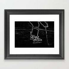 Gliding Framed Art Print