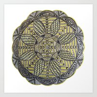 Mandala Fourth Edition Art Print
