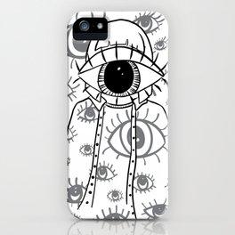Eye Am Eye Am Eye Am iPhone Case