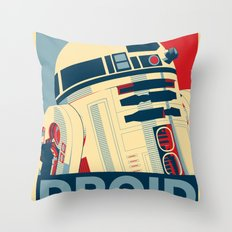 Droid Throw Pillow