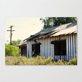 Dreary Canvas Print