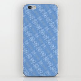 White Lace Pattern iPhone Skin
