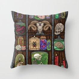 Oddities Throw Pillow