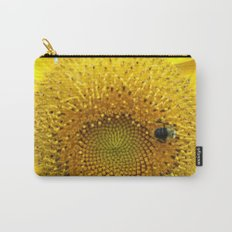 Bee My Sunflower Carry-All Pouch