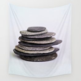 Meditation Stones - Stacked Zen Rocks  #decor #society6 #buyart Wall Tapestry