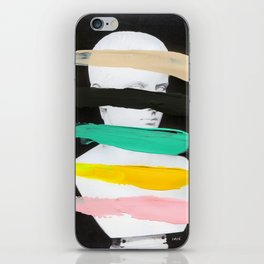 Untitled (Finger Paint 1) iPhone Skin
