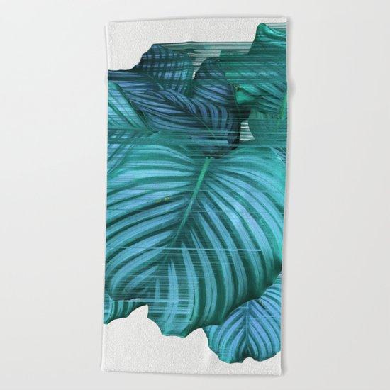 Fast Calathea Beach Towel