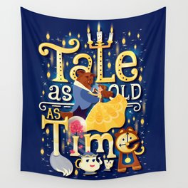Tale as old as time Wall Tapestry