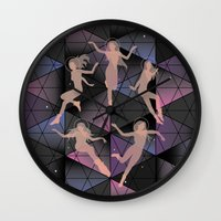 2001 a space odyssey Wall Clocks featuring odyssey by Gray