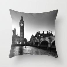 Westminster London Throw Pillow