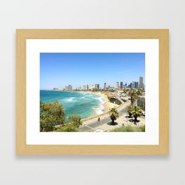 Tel Aviv from Jaffa Port, Israel Framed Art Print