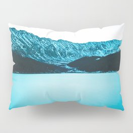 Clinton Gulch // Scenic Sunset Colorado Mountain Range Lake Forest Landscape Photography Decor Pillow Sham
