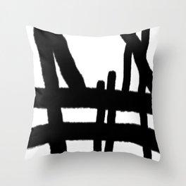 erase the wrong mistake Throw Pillow