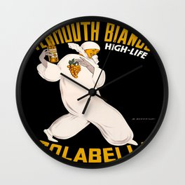 Vintage poster - Vermouth Bianco Wall Clock