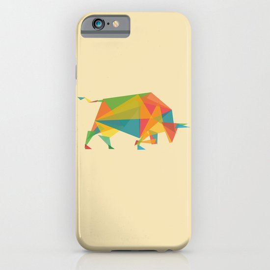Fractal Geometric Bull iPhone & iPod Case