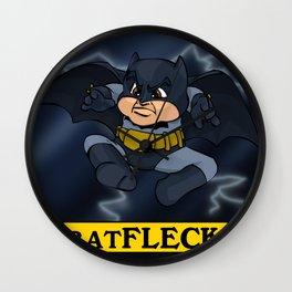 Batfleck Wall Clock
