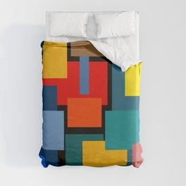 Color Blocks #8-2 Duvet Cover