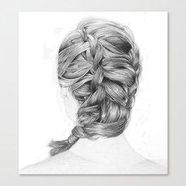 French Braid Canvas Print