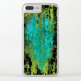 Sickness of the Heart Clear iPhone Case