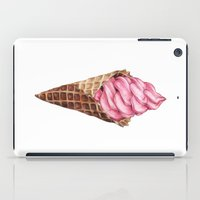 ice cream iPad Cases featuring Ice Cream by Joan Pons