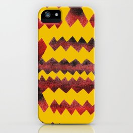 Ethnic diamond iPhone Case