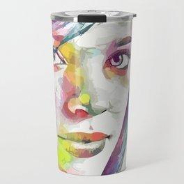 Rachel McAdams (Creative Illustration Art) Travel Mug