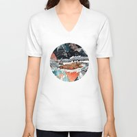 30 seconds to mars V-neck T-shirts featuring Seconds Behind by Sandra Dieckmann