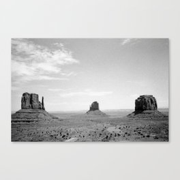 Monument Valley // Three Sisters Canvas Print