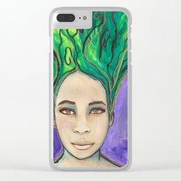 Venus Rising Clear iPhone Case