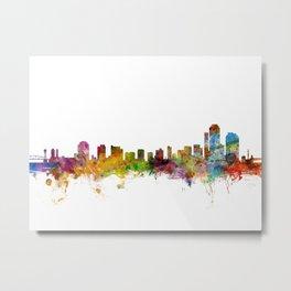 Wilmington Delaware Skyline Metal Print