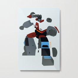 Transformers G1 - Autobot Red Alert Metal Print