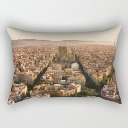 Visit Barcelona  Rectangular Pillow