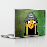 jake Laptop & iPad Skins featuring Jake Crowley by Conversa entre Adeptus