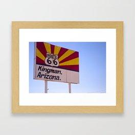 Kingman Arizona Framed Art Print