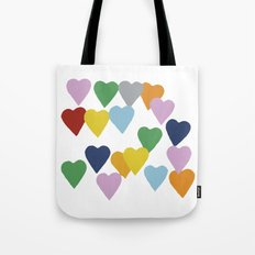 Hearts #2 Tote Bag