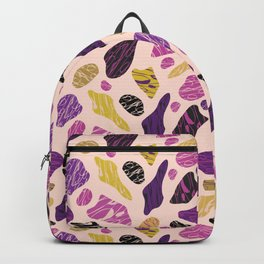 Trendy Organic Abstract Shapes Backpack