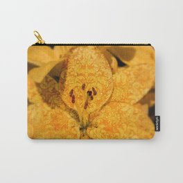 Tattooed Lily Carry-All Pouch