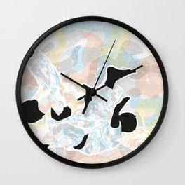 Delicate Judoka 02 Wall Clock