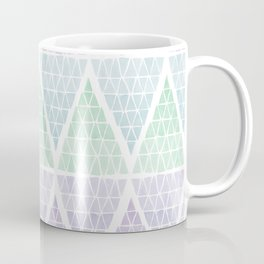 Stacked Triangles - Cool Coffee Mug