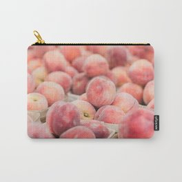 Peaches at the Farmer's Market Carry-All Pouch