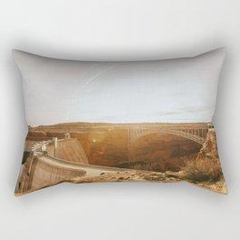 Glen Canyon Dam Rectangular Pillow