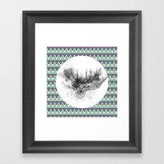 Deer V2 Framed Art Print