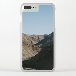 Mountain Valley at Sunrise Clear iPhone Case