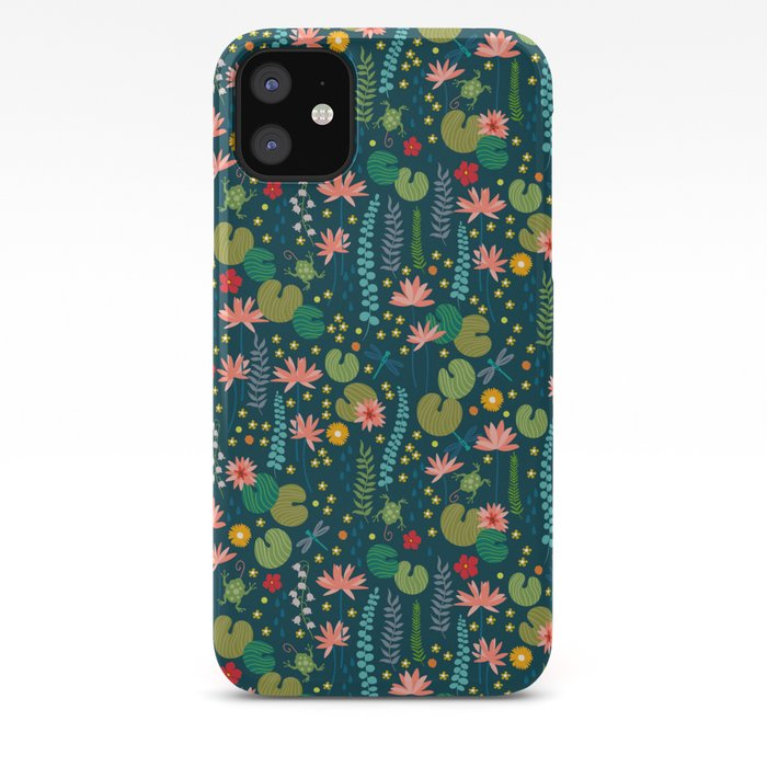 Lily Pads iPhone 11 case
