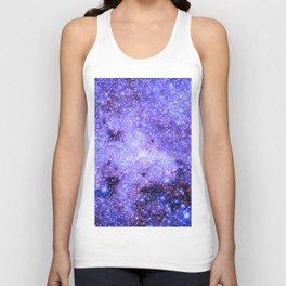 Lavender gAlAxy. Unisex Tank Top
