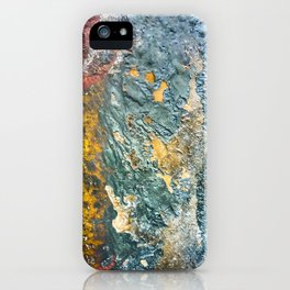 Colorful Abstract Texture iPhone Case
