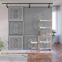 Pineapple Plantation Wall Mural