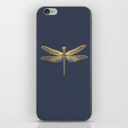 Golden Wings iPhone Skin